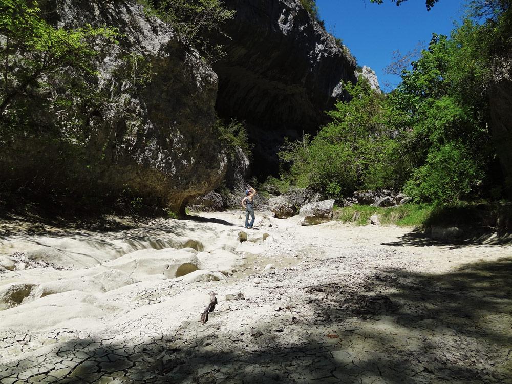 randonnées gorges d'Oppedette