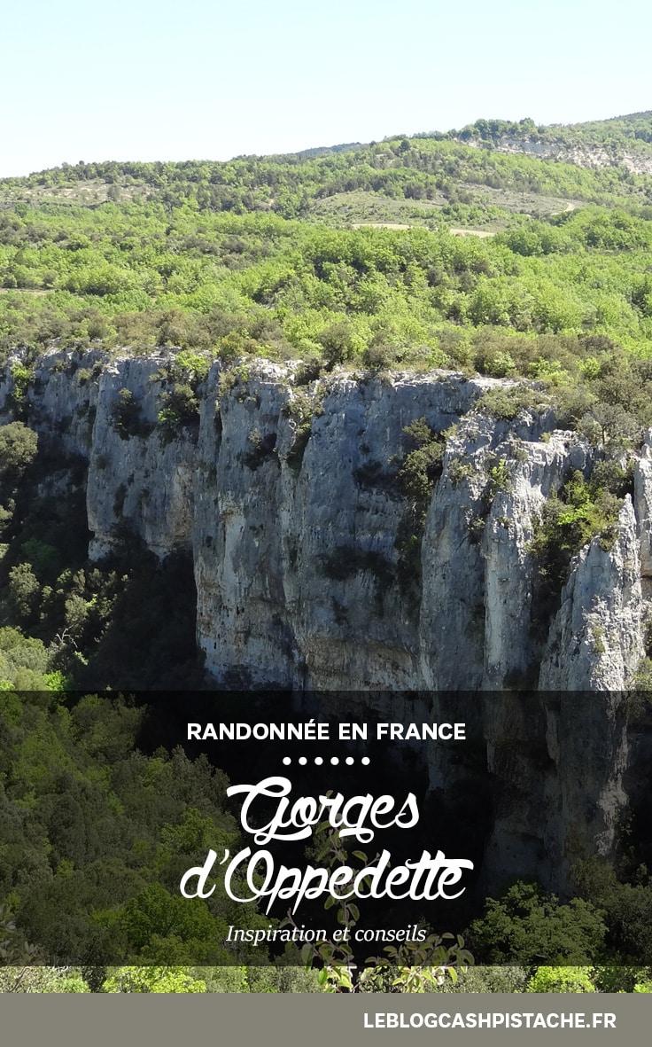 plus belle randonnée Luberon Gorges d'Oppedette