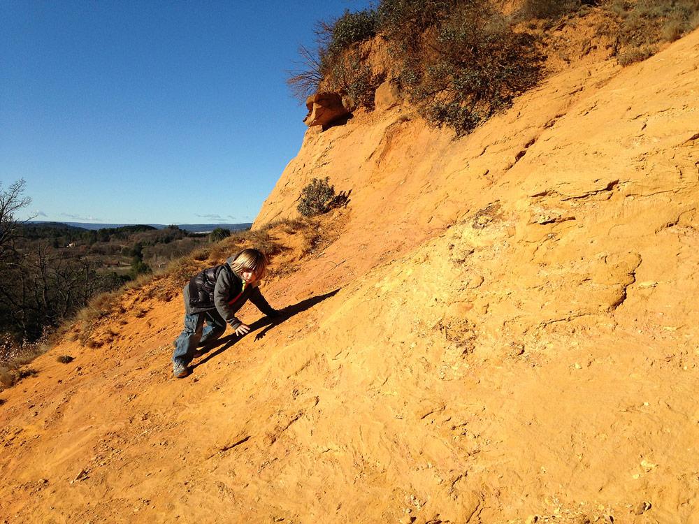sentier de rustrel ocres colorado provencal