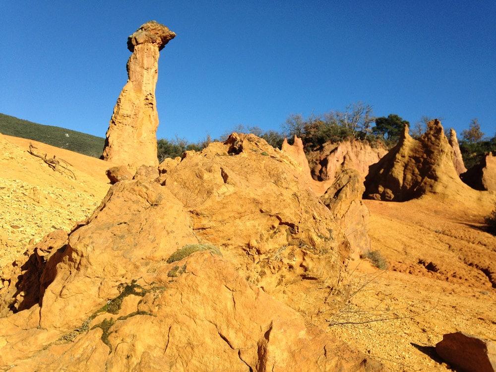 les ocres de Rustrel Colorado provençal