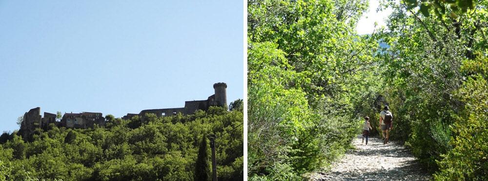 village médiéval des gorges d'Oppedette