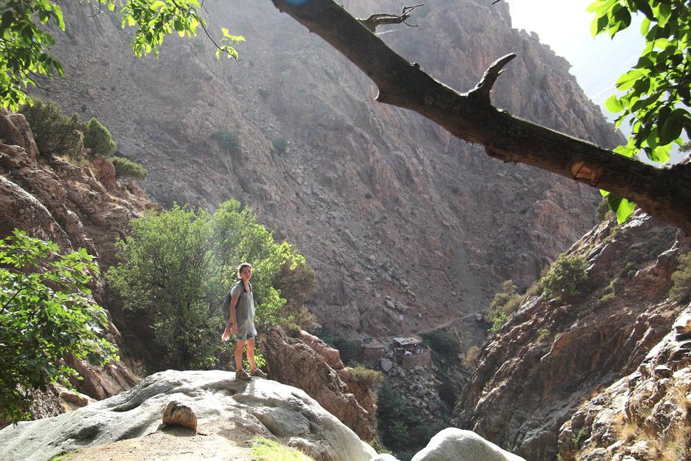 casacade maroc vallée de l ourika