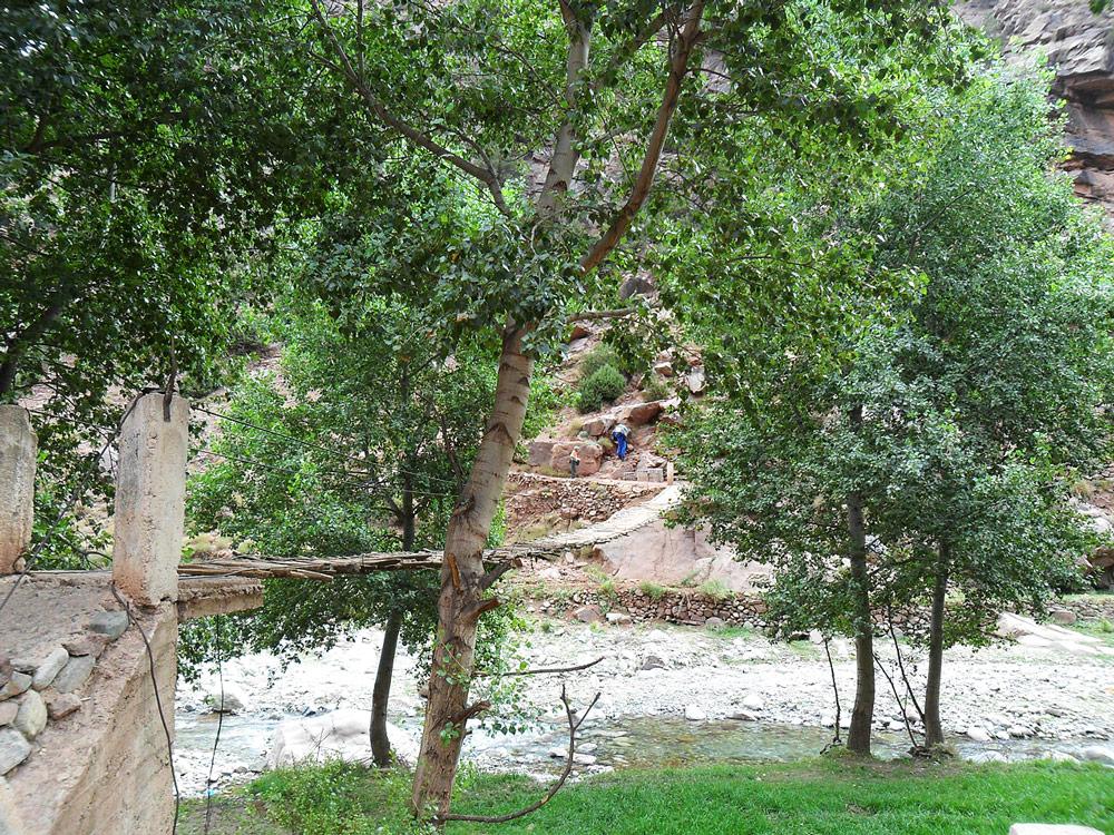 pont de la vallée de l'ourika topo