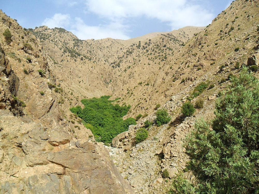 topo rando vallée de l'ourika