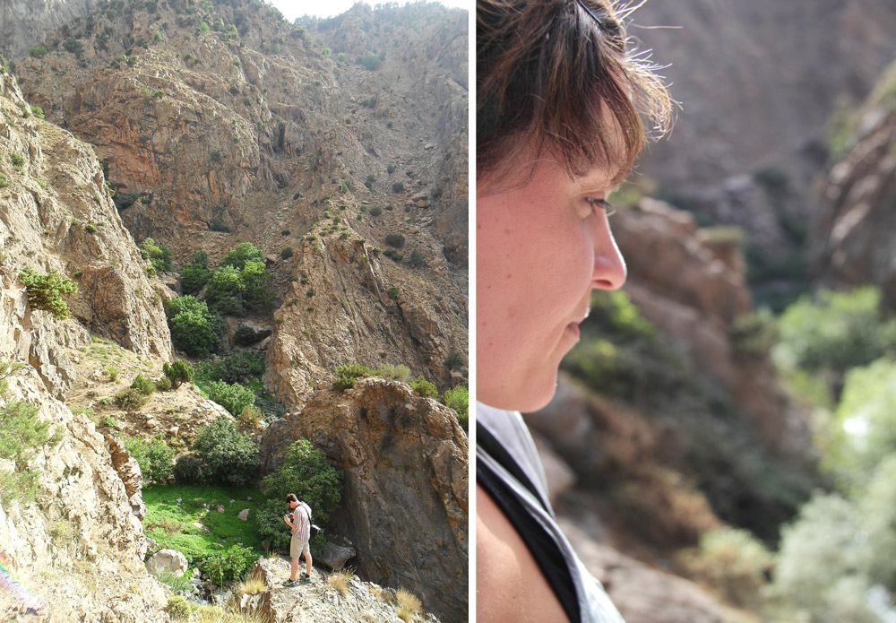 randonnée sportive sud maroc ourika