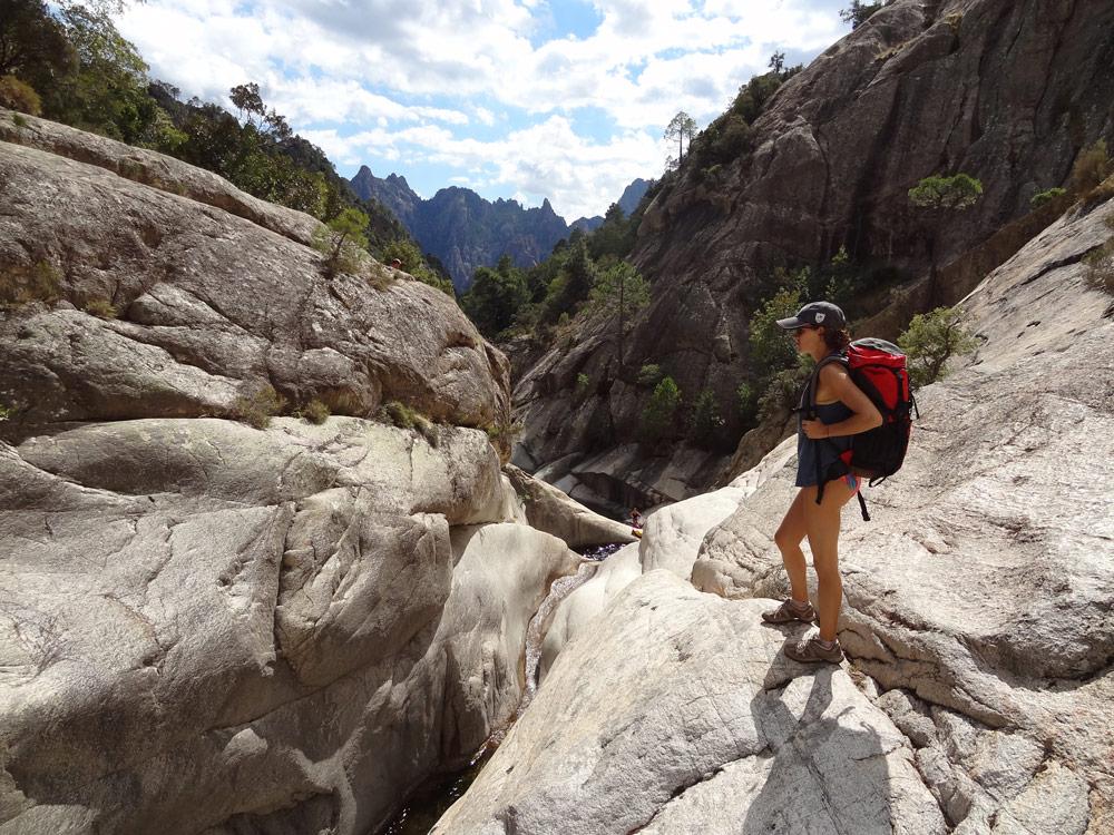 canyon corse cascades de bavella