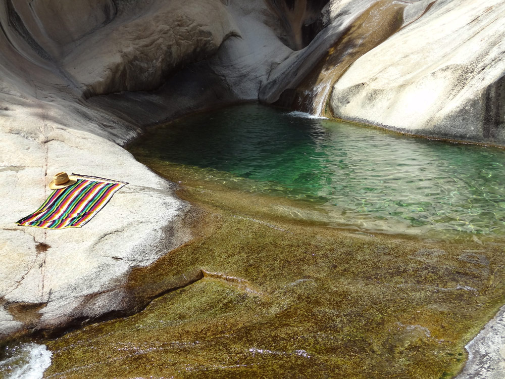 piscines naturelles cascades de bavella