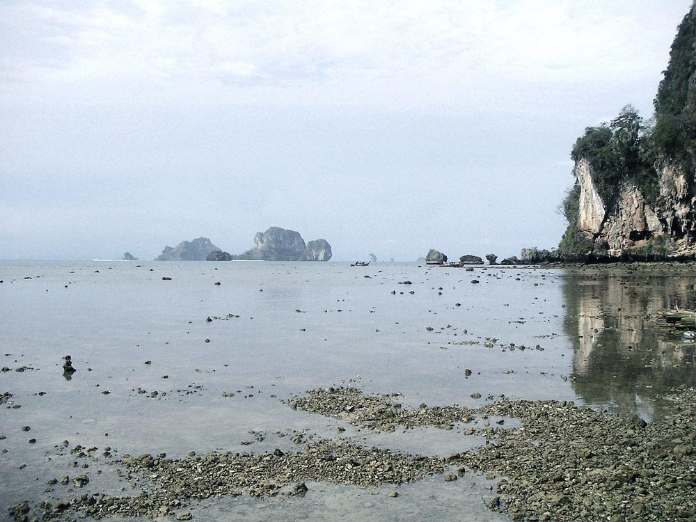 railay beach escalade grimpe thailande