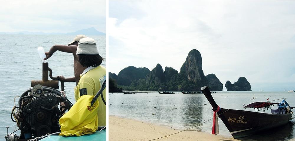 railay beach thailande voayge road trip