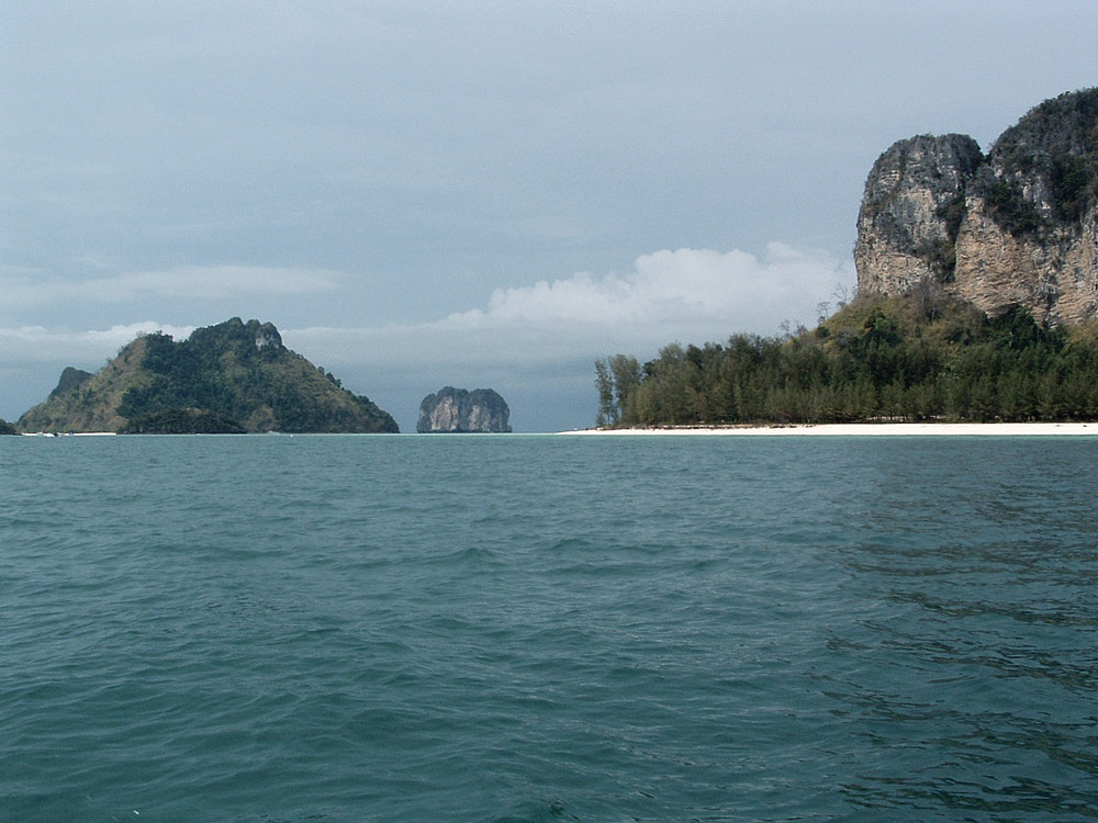 railay beach thailande voyage trip