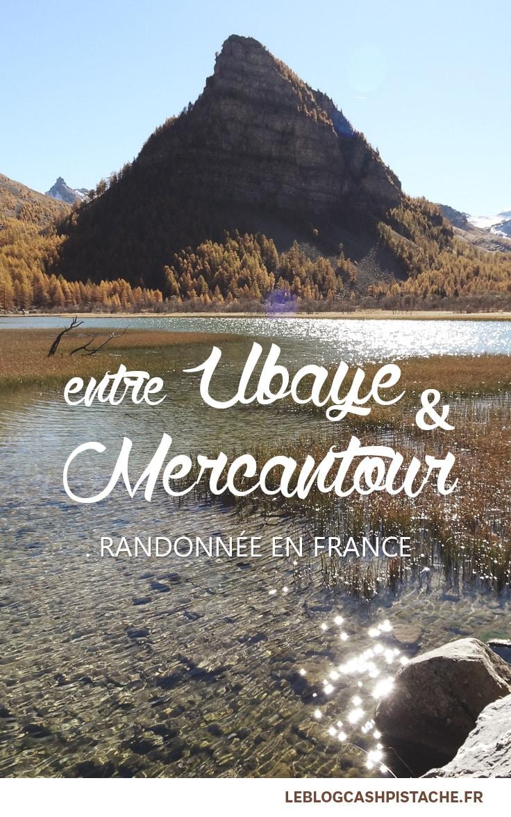 Randonnée en France facile haut du Mercantour
