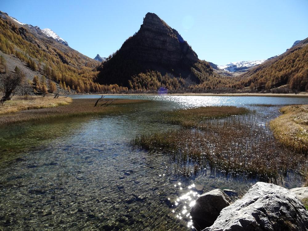 randonnee en famille alpes lac des sagnes