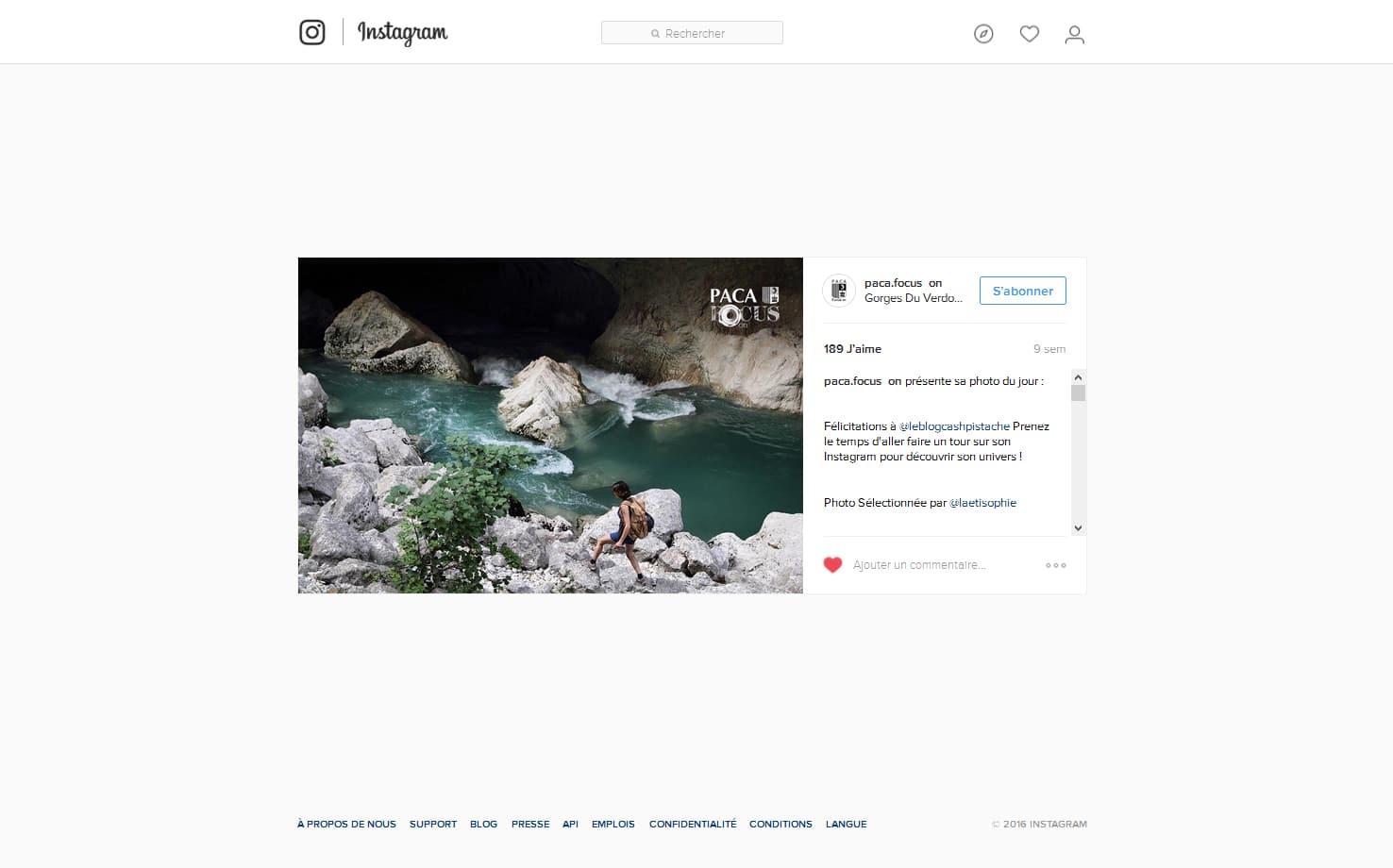 paca focus on instagram publications presse