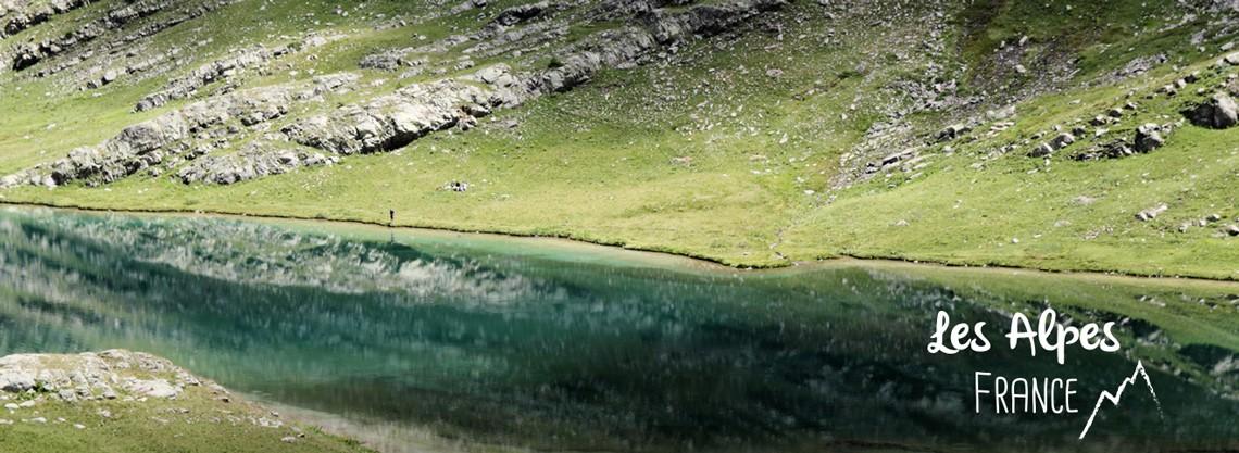 rando lac du lauzanier Alpes Ubaye parc national du Mercantour