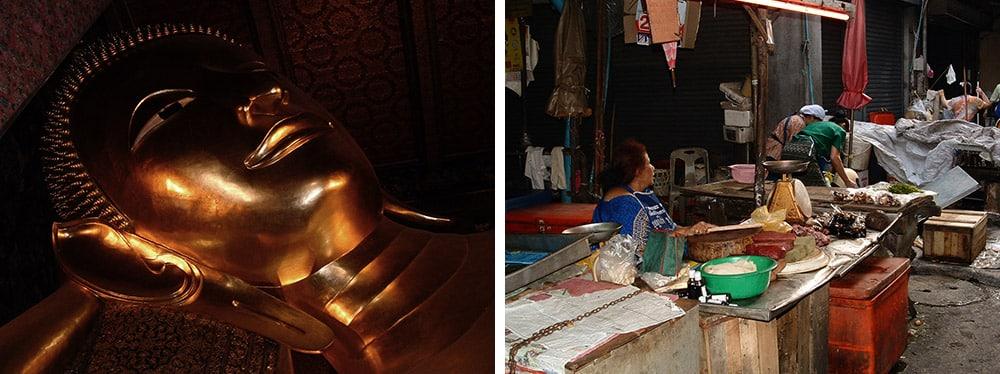 bangkok temples road trip Thailande
