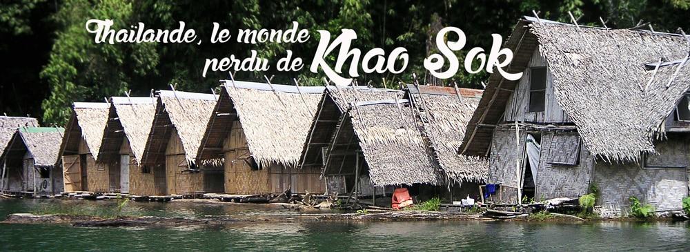 khao sok thailande road trip voyage