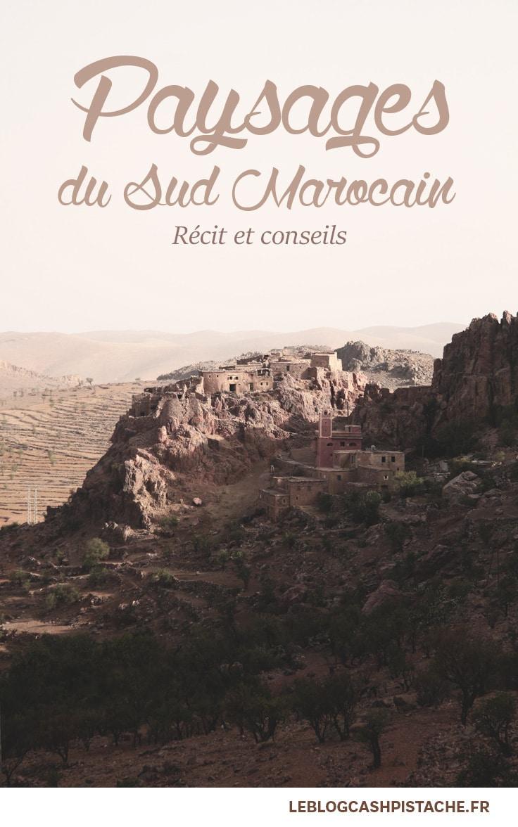 Road trip désert du Maroc paysages marocains