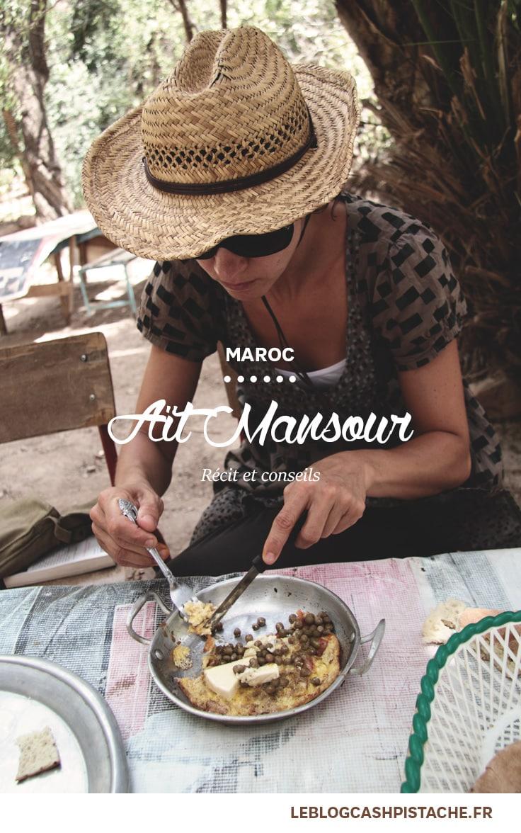 Road trip Maroc Gorges Aït Mansour