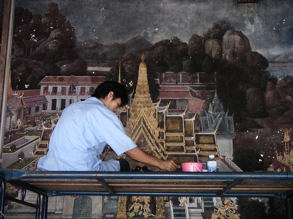 temple bkk road trip thaï