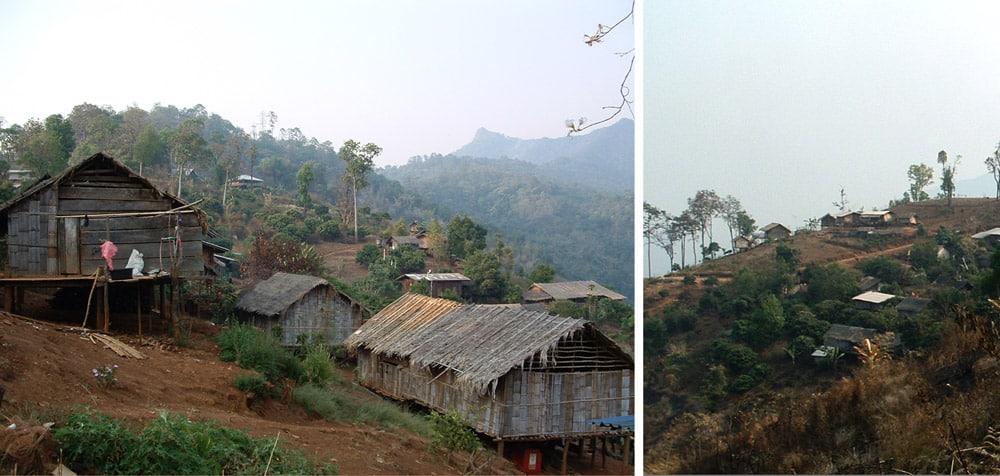 trek à Chiang Mai en Thailande village trek