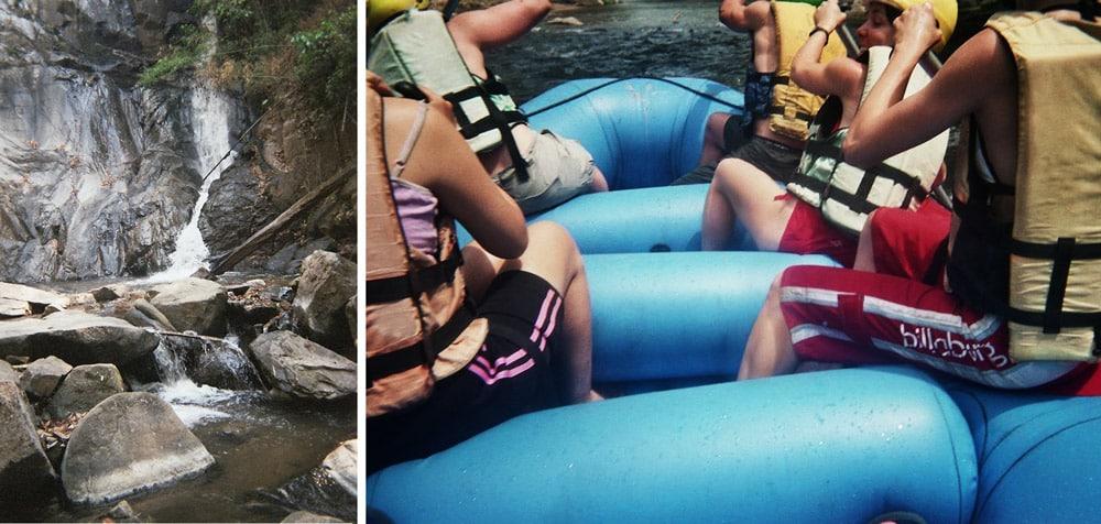 jungle cascade et rafting à Chiang Mai