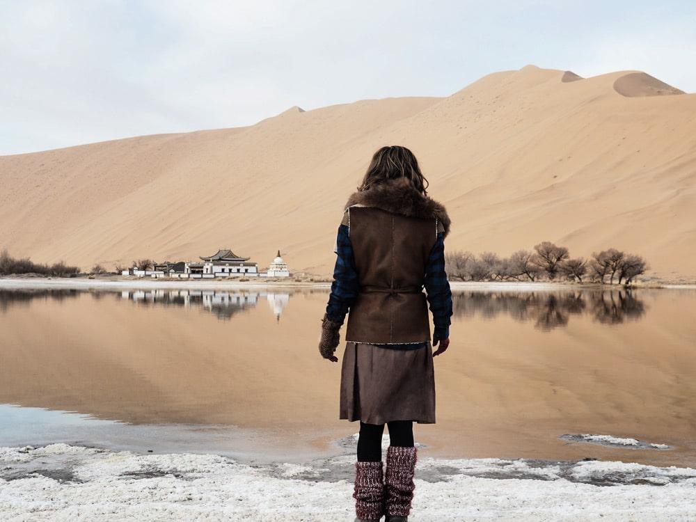 desert de chine badain jaran blog voyage