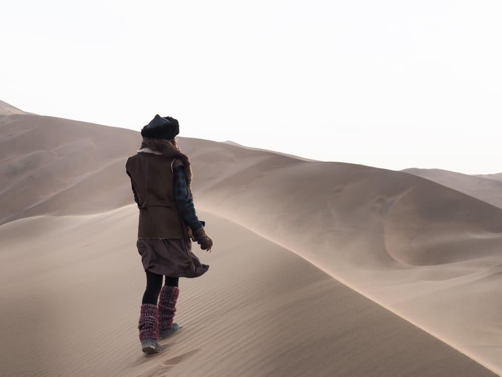 desert en chine badain jaran blog voyage