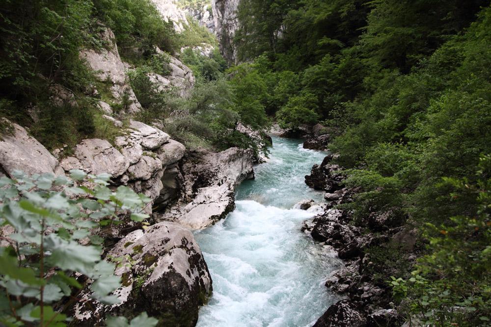 gorges du Verdon sentier de l'imbut aventure en Provence