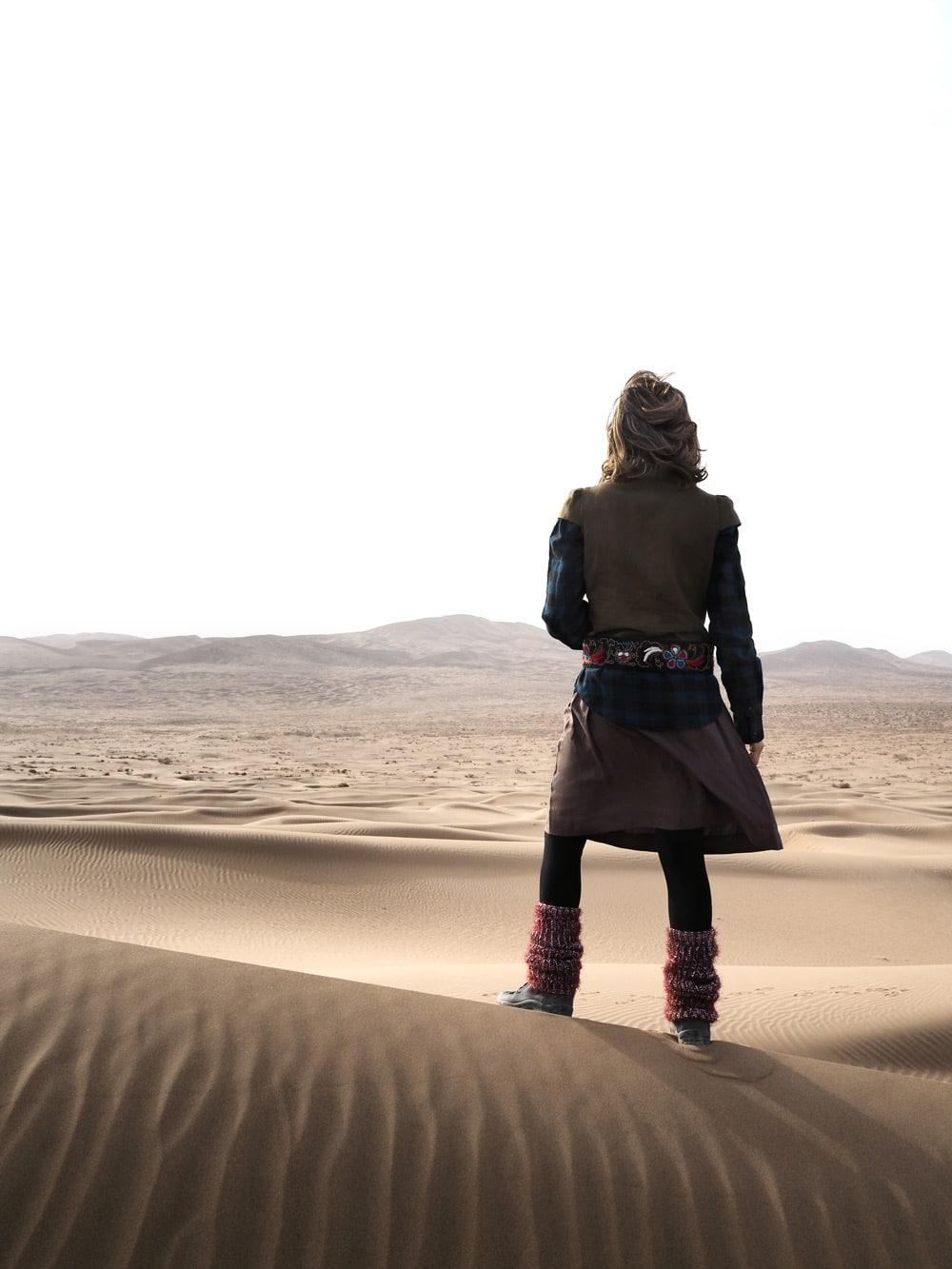 Le plus beau désert chine Badain Jaran voyage