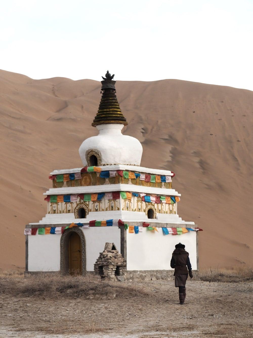 temples chinois desert de chine blog voyage