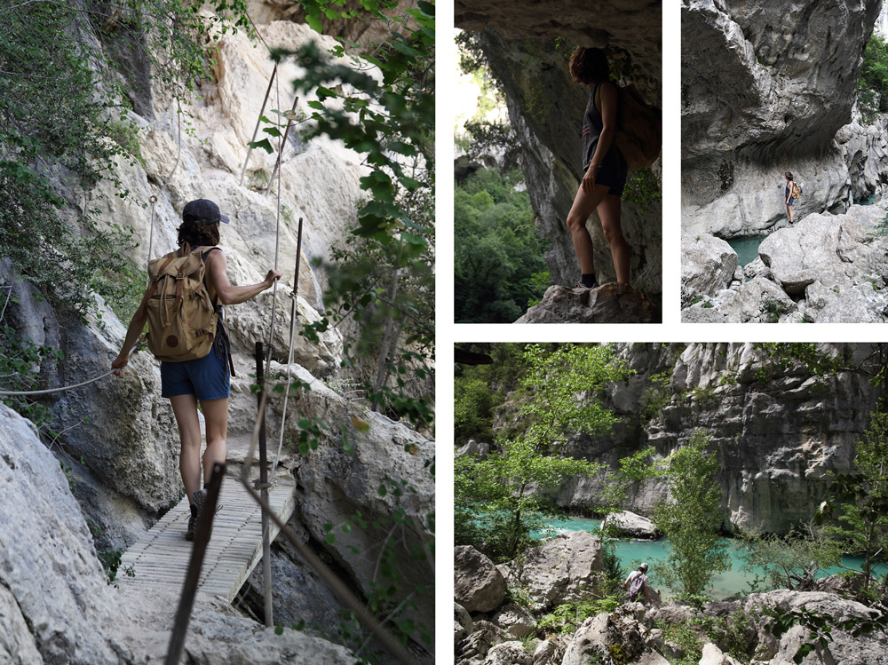 verdon imbut via ferrata comment visiter le verdon