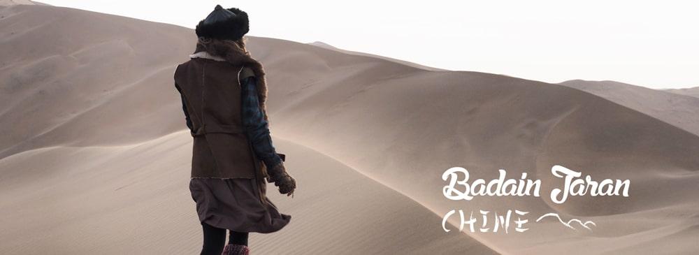 voyage en Chine desert badain jaran trek