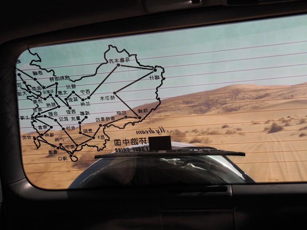desert chinois 4x4 dans desert badain jaran voyage badan jilin