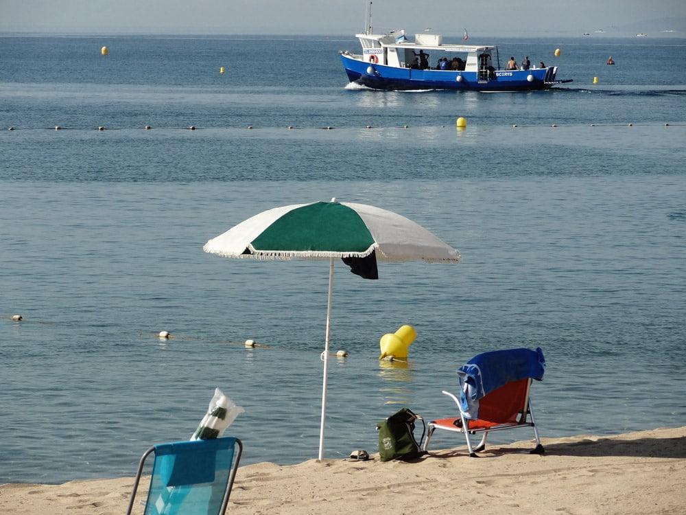 avis et conseils plage Fréjus St Raphaël vacances Côte d'Azur