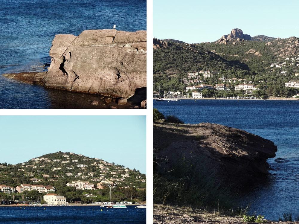 Baie d'Agay Estérel top 10 vers St Raphael