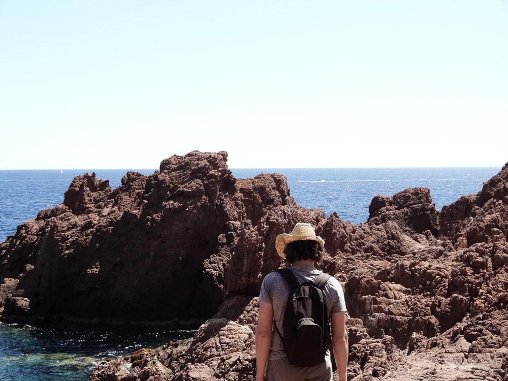 Criques Corniche d'Or et calanque St Raphael