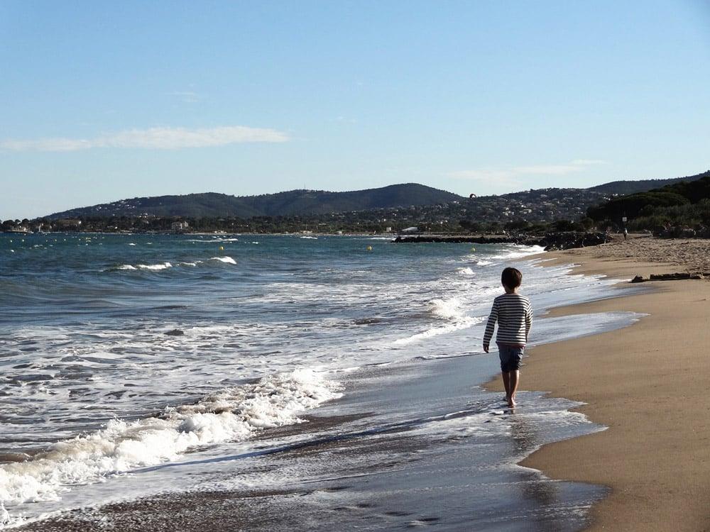 Fréjus plage base nature sur la Côte d'Azur