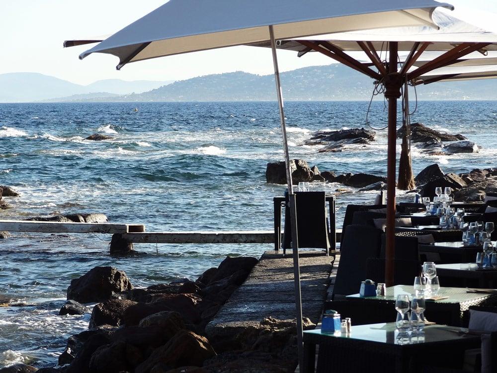 le plus beau restaurant de St Raphael en vacances d'été que faire Estérel