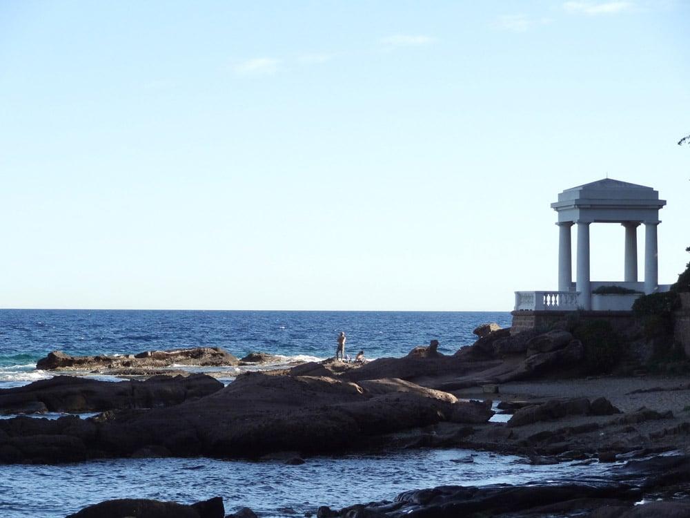 plage crique de St Raphael vacances tourisme