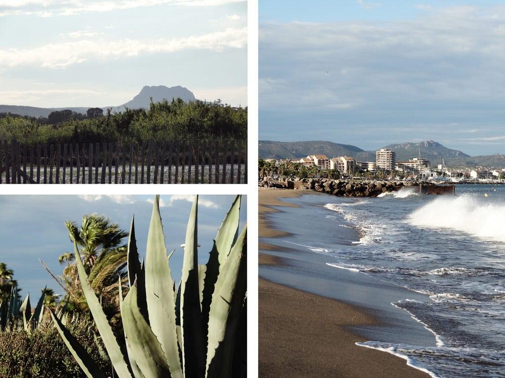 plage de Fréjus vacances Côte d'Azur