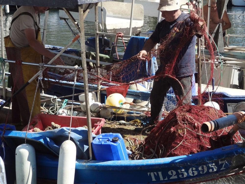 port de pêche saint Raphael Fréjus à voir