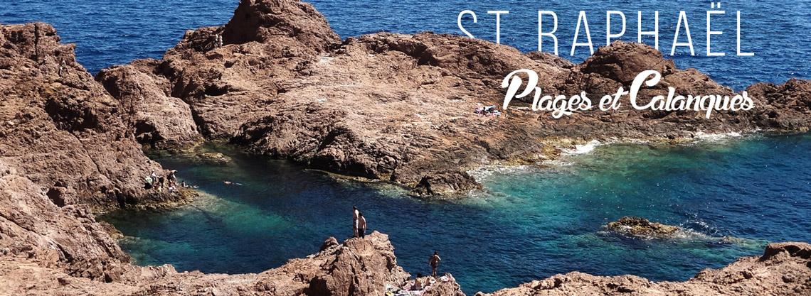 Vacances à St Raphael : plages et calanques • Le blog Cash Pistache