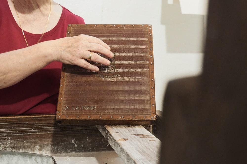 fabrication papier Canson musée papeteries Annonay