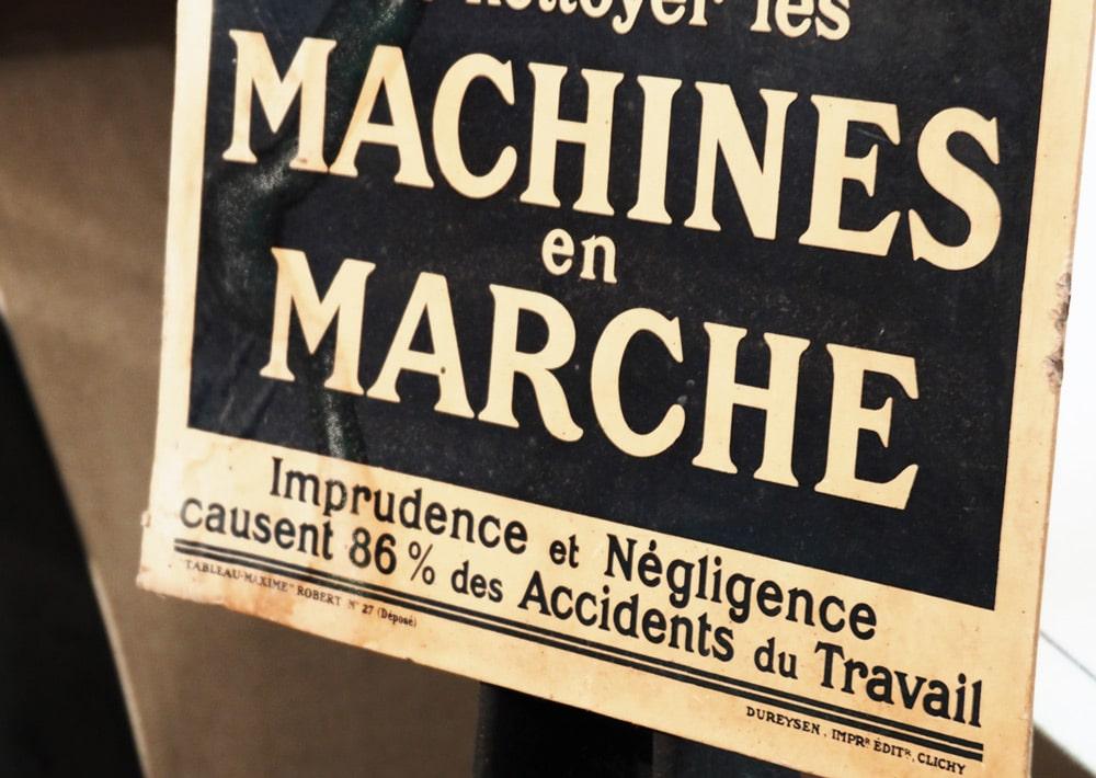 Musée du papier Machines à papier en Ardèche