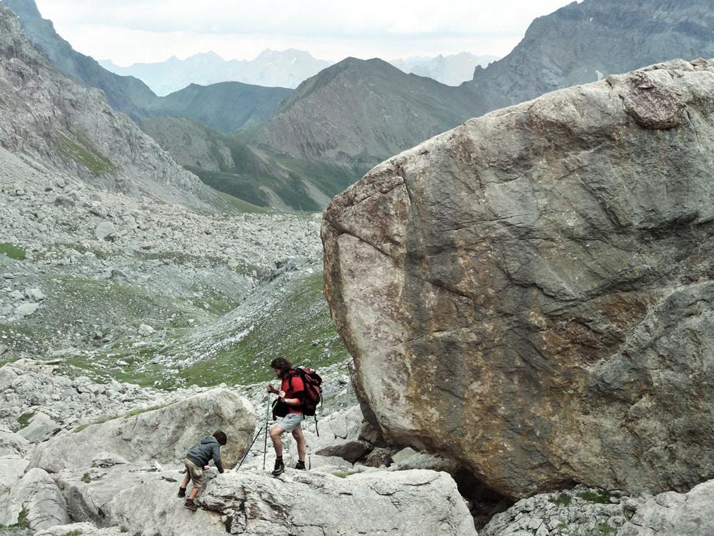 Chambeyron randonnée GR Pas de la Couletta