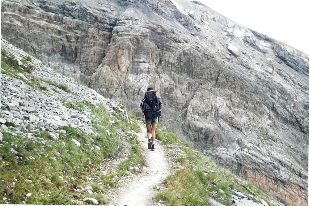 Fouillouse Chambeyron sentier de randonnée