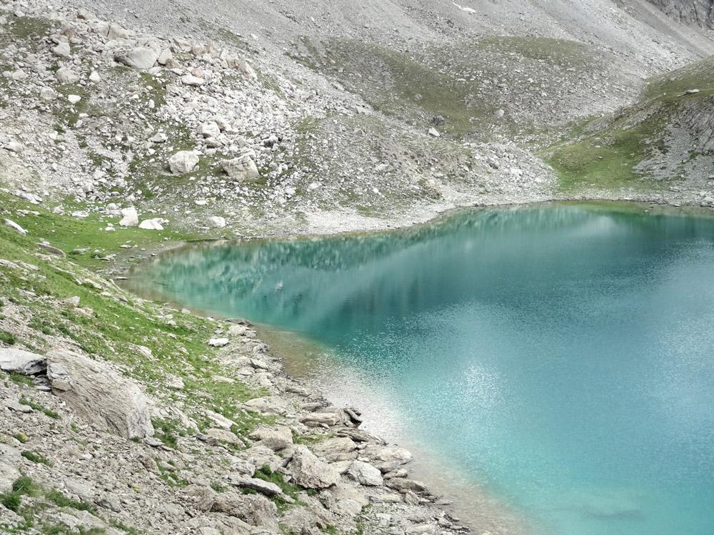 lac couleurs Chambeyron rando