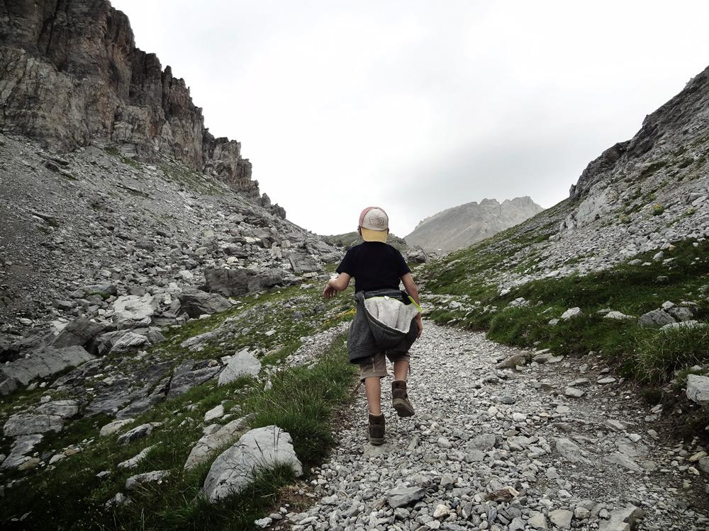 petit randonneur Chambeyron Alpes anniversaire insolite
