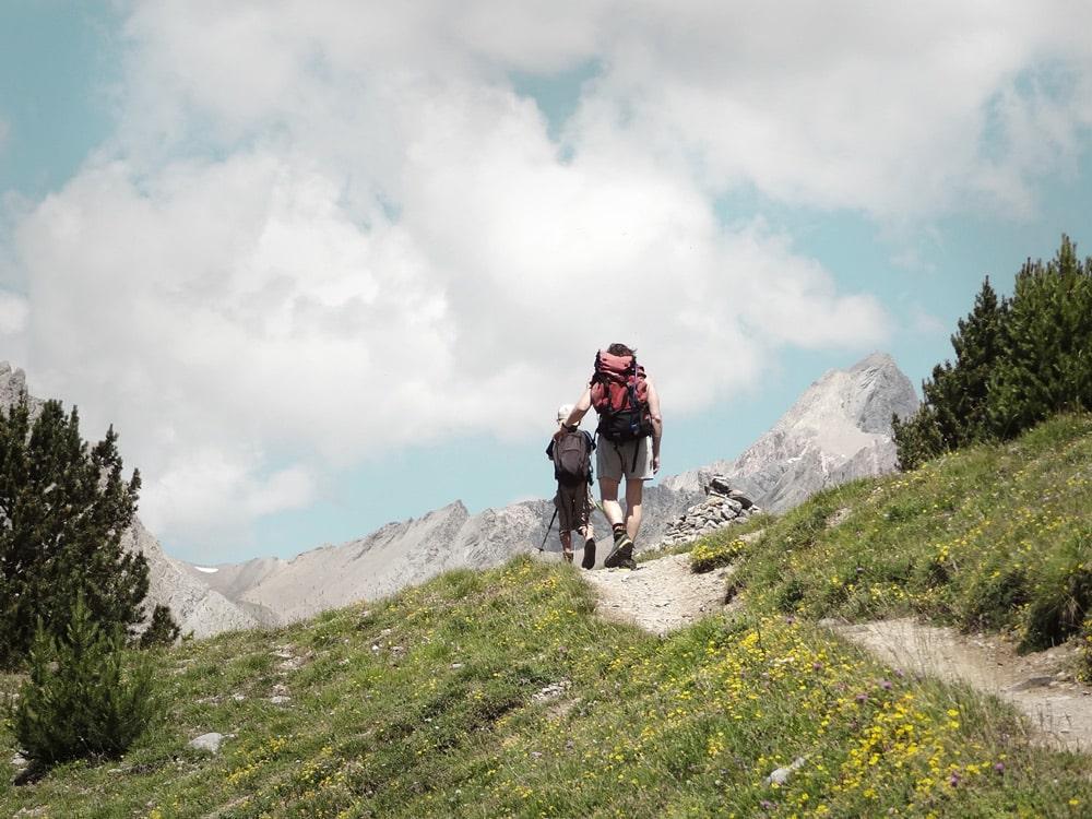 randonnée avec enfant Alpes Chambeyron