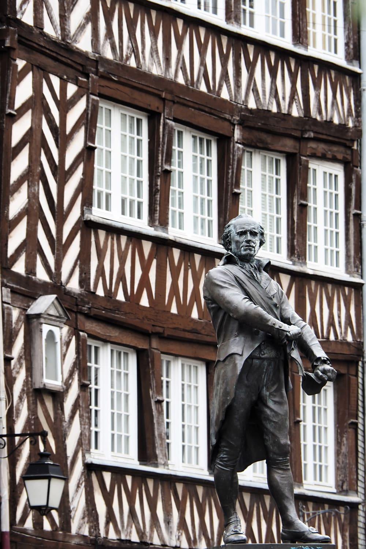 maisons à pans de bois Rennes vieille ville